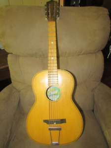 Japan made 12 string acoustic project and small parlor guitar