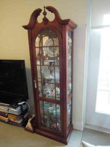 Mahogany Curio Cabinet