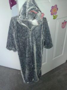 Grey Cat Costume
