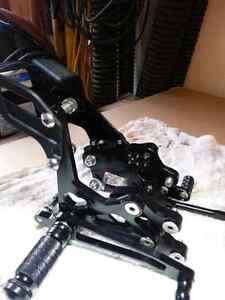 Rear sets foot peg for Kawasaki zx10r