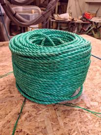 Rope - 220m 12mm green polypropylene