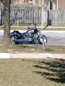 2002 HARLEY DAVIDSON FATBOY WITH EXTRAS