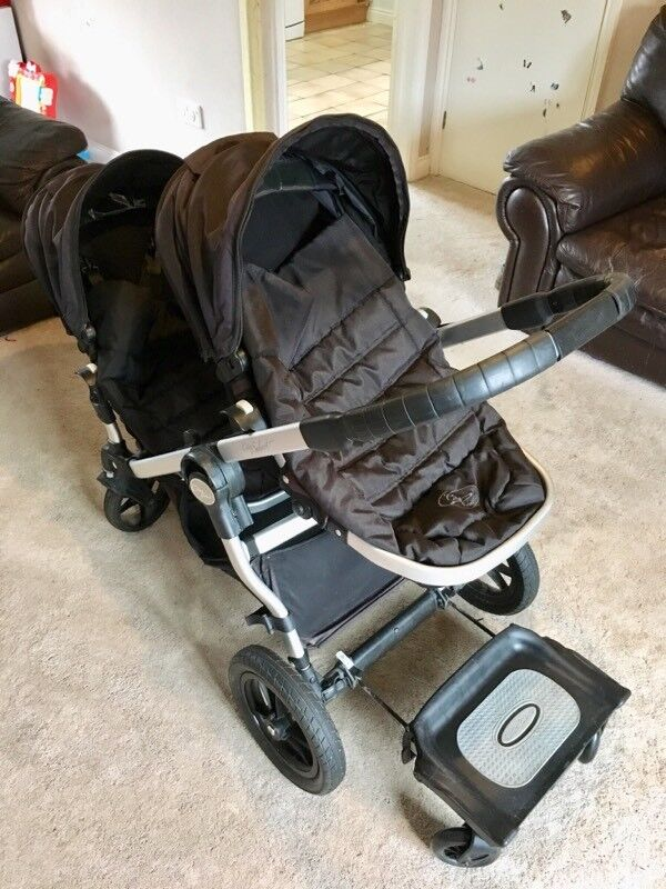 Baby Jogger City Select Double Seat Stroller With Pram And Glider Board In Ely Cambridgeshire Gumtree