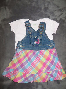 girls size 3-6 months 31 pieces of clothing page one Stratford Kitchener Area image 8