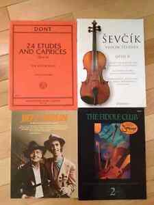 VIOLIN BOOKS!! (Sold separately, or all together)