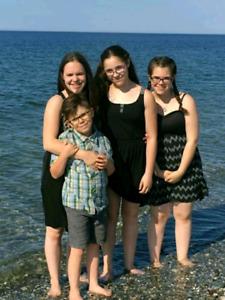 Merveilleuse famille cherche 4 chambres