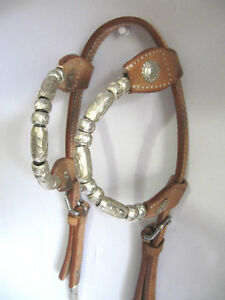 Western Bridle + Reins 2 Ear Silver Set Saddles + Tack For Sale London Ontario image 1
