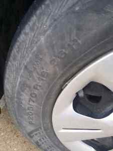 Wanted tires 205/70r16 and 205/55r16 Stratford Kitchener Area image 1