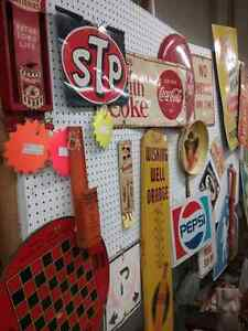 Nostalgia signs, tins license plates plus 600 booths full Peterborough Peterborough Area image 2