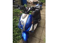 50cc Peugeot ludix blaster rs12 50 scooter moped