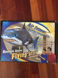 Air swimmer remote control shark