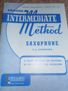 music sheets for saxophone