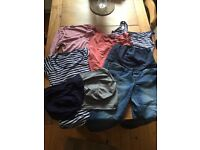 Size 10 New Look Maternity Clothes Bundle (Tops, Jeans & Bump Bands)