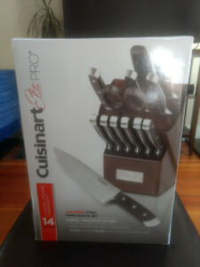 Brand new! Cuisinart Forged Japanese Knife Set, 14-pc