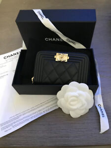 BRAND NEW Authentic Chanel Card Coin Small Wallet