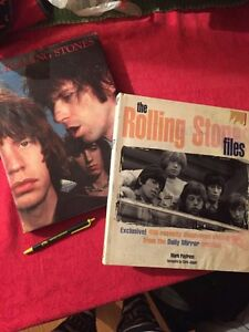 The Rolling Stones - 2 large books