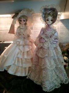Vintage Bradley Dolls ($10 Each)