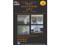 painter and decorator specialists for all interior and exterior work