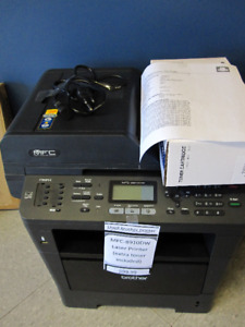 Brother MFC-8910DW Laser Printer (Extra Toner Included)