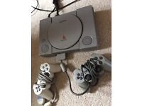 Playstation One +35games, 2x controllers, 2xNamco Guns: £80
