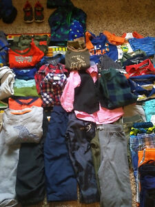 Large lot of Toddler Boy winter/fall clothes, and summer too! Belleville Belleville Area image 7