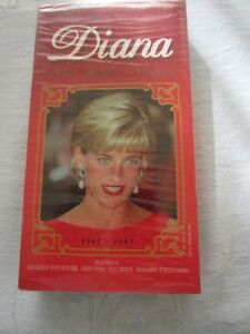 DIANA THE PEOPLE'S PRINCESS VIDEO MEMORIAL VHS