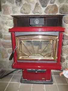 Wood stove / foyer combustion lente