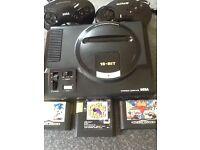 Old school Mega Drive+games