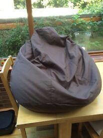Bean bag chair seat