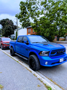 2018 Ram Sport Special Edition Hydro Blue with 10$k in extras