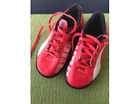 Boys size 11 puma football/ play shoes
