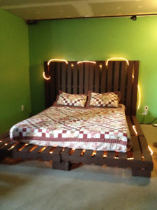Pallet Bed Frame king-Queen