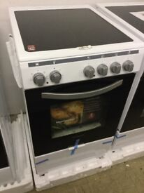Montpellier white Electric Cooker 500mm
