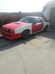 Rare 1986 dodge Daytona turbo z