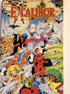 Marvel Comics - Excalibur (X-Men) prestige editions (TPB 1987)