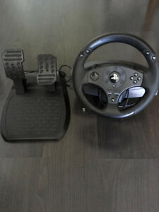 Like NEW T80 Racing Wheel Set for PS3/PS4
