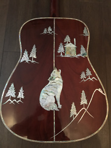 Custom Made Acoustic Guitar