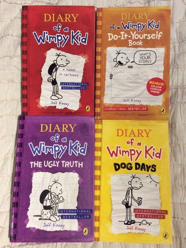 Diary of a wimpy kid books in southgate london gumtree diary of a wimpy kid books solutioingenieria Images