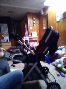 Brand new front and rear facing stroller