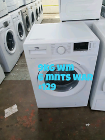 Beko 9kg washing machine free delivery in Nottingham