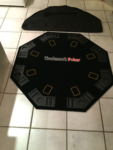 Brand new poker/black jack table and carry bag