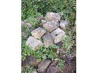 Job lot of rockery stones