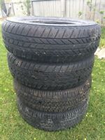 Set of 185 / 70 R14 tires
