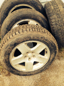 Used tires rims for sale