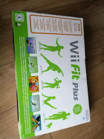 Nintendo Wii Fit Plus Balance Board and Game