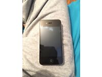 iPhone 4s 16gb unlocked with warranty & USB charger