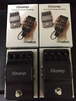 Digitech istomp pedal 85$ each or 150$ for both