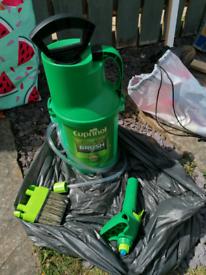 Cuprinol Fence Sprayer & brush