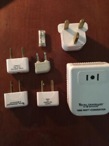 Travel plug in adapter kit