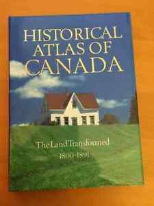 Historical Atlas of Canada 4 Volume Hardcover Set Kingston Kingston Area image 3